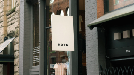 kotn vancouver ethical clothing brand