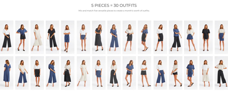 vetta capsule wardrobe sustainable clothing brand